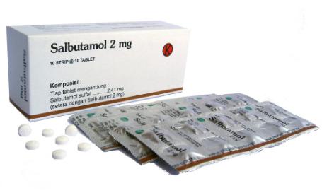 Salbutamol 2 mg